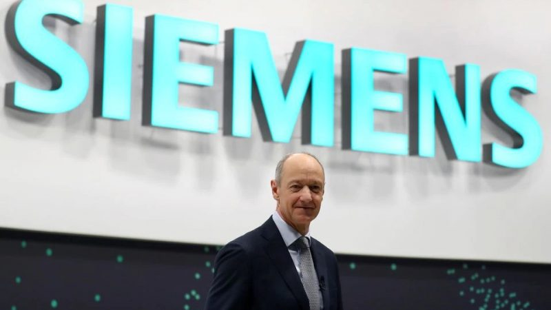 Siemens completes spin-off, favours smaller deals -CEO tells Manager Magazin