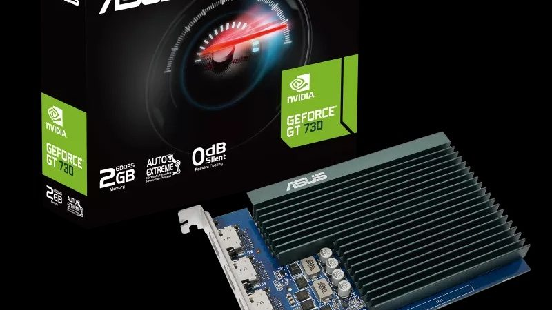 Another company relaunches the GeForce GT 730 amid graphics card crisis